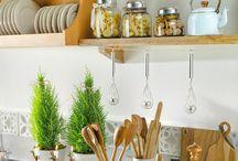 cozinha decor e organização