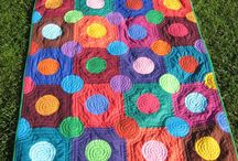 Quilts dots on squares
