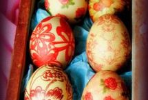 βάψιμο αυγών