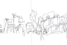 India 2013 / Dibujos realizados durante nuestra estancia de tres meses en India