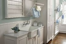 laundry, mud rooms, entry / by Sarah Basye Eidson