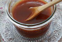 Caramel sos γλυκές
