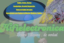 Cables y Fichas vulcanizados , para electrodos de kinesio