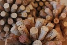 Decorating with Corks