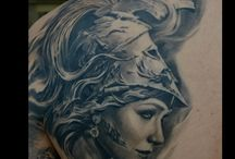 tattoo athena