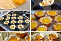 Forma de cupcake/Receitas