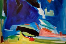 Abstract Expressions / An exhibition showcasing contemporary painting that draws upon the modern tradition of Abstract Expressionism.  Featuring Jimi Evins, Lea Feinstein, and Kathryn Arnold.
