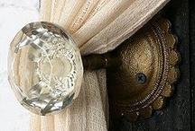 Decor...detalhe porta / by Achados... da Lu