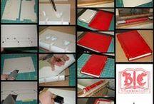 grimórios / cadernos / papel