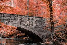 Ways and Bridges - Tiet ja sillat / Ways, streets, paths, steps, bridges, stones