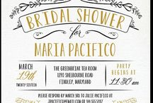 paige bridal shower invites / by Courtney Kee Mannino