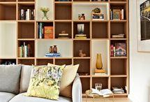 Living room shelving/storage