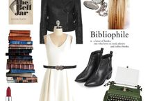 MY STYLE - librarian girl / Inspirations : Jess Day, librarian, writer, classy & creative, writing, reading, books Occasion: casual, every day  Inspirations: fairy tale, library, colars, heels, black&white, red, contrasts Occasion: everyday, work