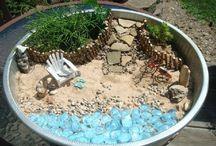Fairy garden beach