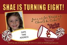 USC Cheer Mania Party Ideas / All things Crimson and Gold for a tride and true Trojan Party!