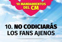 """""""Los mandamientos del CM"""""""