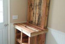 met oud hout knutselen / hoe knutsel je met afvalhout