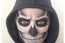 Totenkopf Make-up