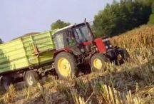 traktoros zenék