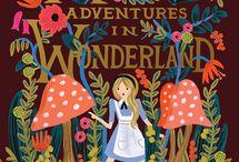 Alice in Wonderland / Tout ce qui attrait à Alice au Pays des merveilles.