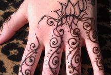 Henna reference / by Sandra Fox