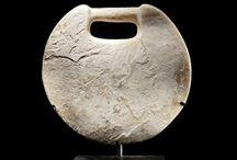 Bactrian Margiana artifacts / Bactrian bronze ring - Bactria Margiana - Bactrian chlorite bowl - Bactrian vase - Bactrian statue - Bactrian statuette - Jiroft
