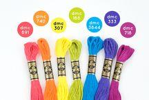 DMC συνδιασμοί χρωμάτων