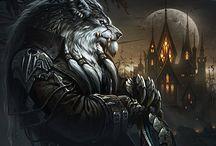 Worgen & Menschen / Eine Sammlung mit Bildern von Worgen & Menschen aus World of Warcraft. A collection of images of Worgen & Human from World of Warcraft.