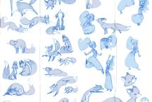 Tutorial  dessin(드로잉참고) / 인체드로잉참고