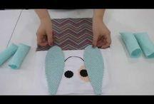 videos / passo a passo de tecnicas de artesanato
