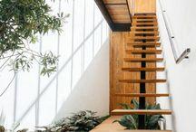 escada para casa