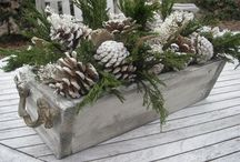 flower box christmas