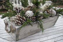 flower box christmas