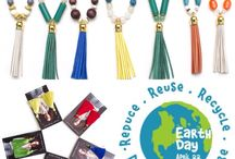 Earth Day Fashion / Earth Day Jewelry by Honey Rose & K. Eco-chic