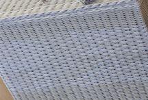 плетение из бумаги- короба и бельевые корзины