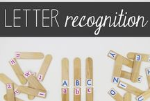 Alphabet Adventures / Games, lessons, activities and free printables to teach your toddler or preschooler the letters of the alphabet through play.  This board also includes individual letter activities.