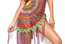 crochet dresses, motifs ect