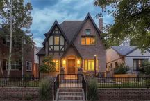 Modern Luxury Tudor Home / This amazing modern luxury home located in East Wash Park is a stone's throw to Denver's popular Washington Park, Old South Gaylord Street Shops and Cherry Creek Shopping Center .