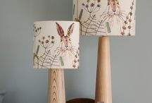 Hares - Jo's Original Work / Hare cushions, coasters, lampshades, chairs, wall hangings, greetings cards