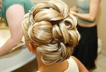 Ryanna Wedding Updo's