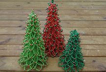 Holiday Crafts / Things that people have made ( knit, sow, bead, clay, paint, draw and others) that are related to holidays such as: Christmas, Easter and Halloween!
