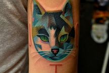 Cat tatoo