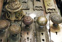 Old antique doors
