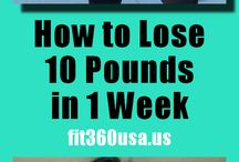 Losing 10 pounds