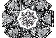 Zentangles - mandala