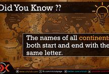 Amazing Facts / Amazingly Interesting Fun Facts
