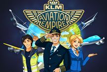 Aviation Empire / Rule the skies with this 3D strategic airline game! Your mission: choose destinations, invest in aircraft and design your airports to create your very own airline.   For more information or for sharing your feedback visit us facebook.com/aviationempire