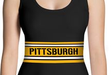 Sports Leggings & Sports Tshirts / Wear these leggings and tshirts for any sports event. Look great at the tailgate parties!