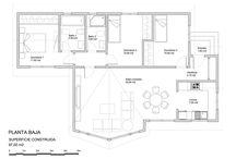 Planos hasta 100 m2 / Planos constructivos de viviendas hasta 100 m2