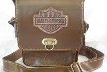 Tas kulit Harley Davidson